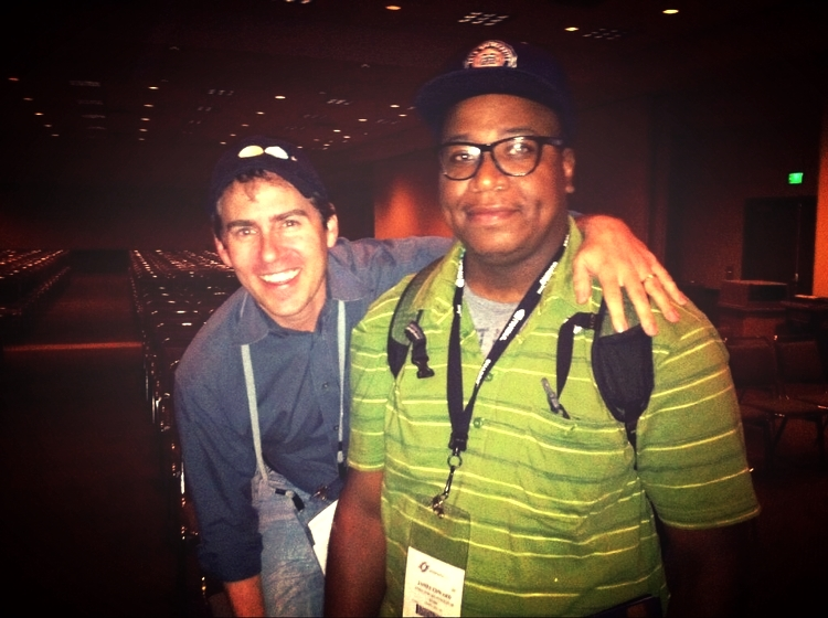 Day & Night  director Teddy Newton at Siggraph 2010.