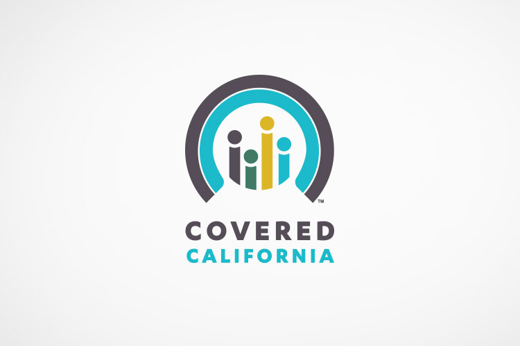 Covered California brand identity, a collaborative project done at Ogilvy & Mather