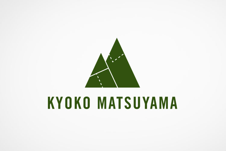 Personal logo for Kyoko Matsuyama, fibers artist
