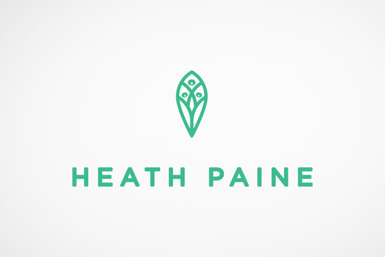 Heath Paine  brand identity