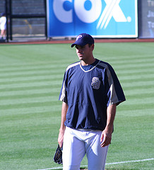 "Chris Young, San Diego Padres. Image from ""ewen and donabel"" on Flickr.com"