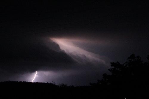 Lightning at Doran Park
