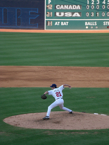 Mike Koplove (Chatham '97, Dodgers AAA) is one of the relievers on the 2008 US Olympic Baseball Team competing in Beijing.