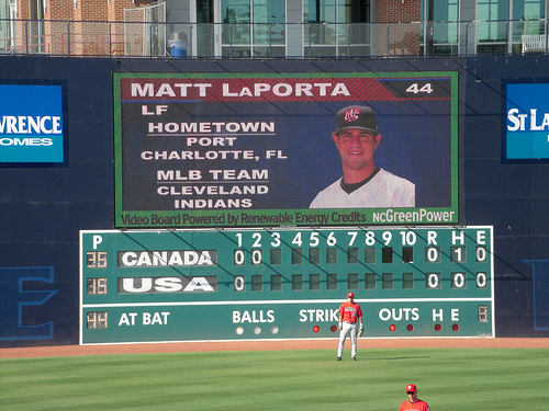 Matt LaPorta on The Blue Monster in Durham, NC