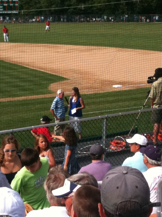 Peter Gammons being interviewed for WBZ's webcast