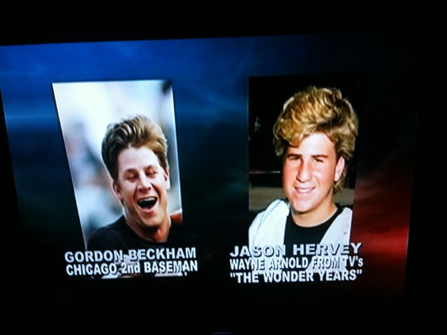 Gordon Beckham vs. Jason Hervey
