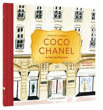 Coco Chanel - lib of luminaries.JPG