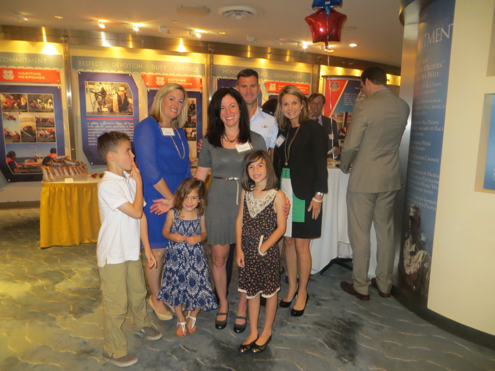 Sweet honoree family at OMK Party