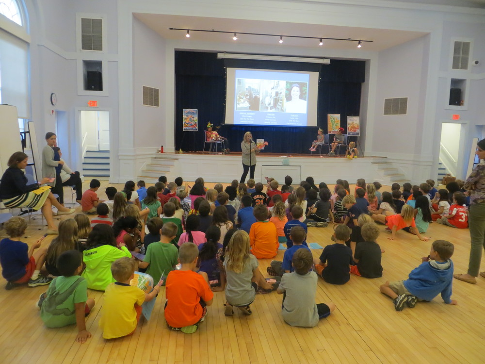 Readings at Janney Elementary School