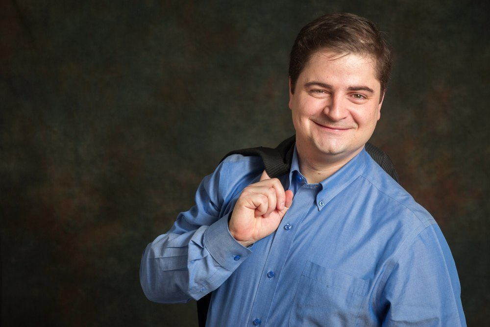 Men Strong Portrait for Corporate Headshot