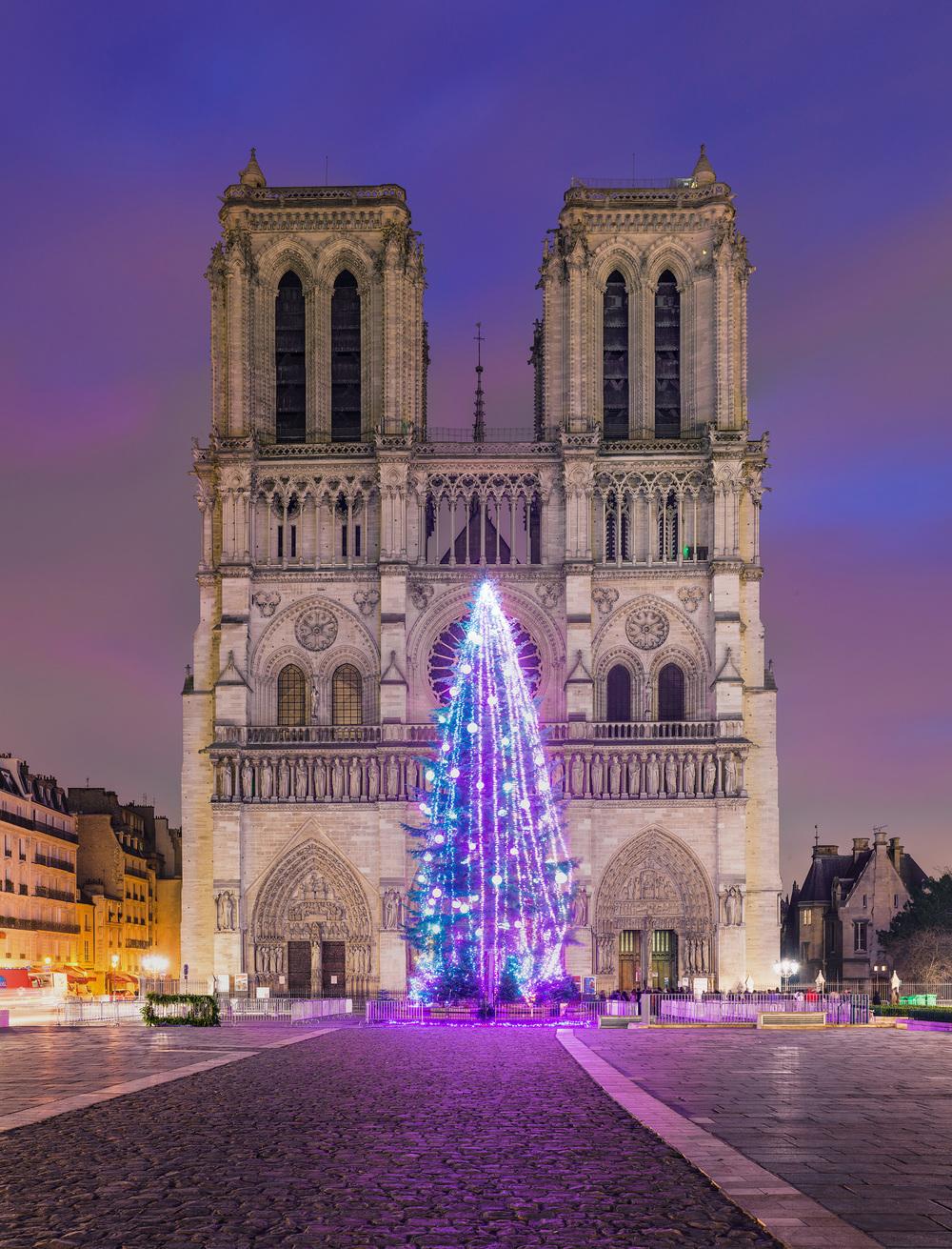 Notre Dame, Christmas 2014, 183 megapixels