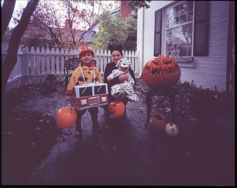 A rainy Halloween, 2015