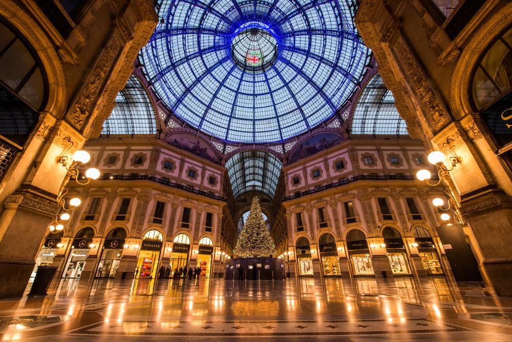 Galleria Vittoria Emanuele II, circa Christmas 2014