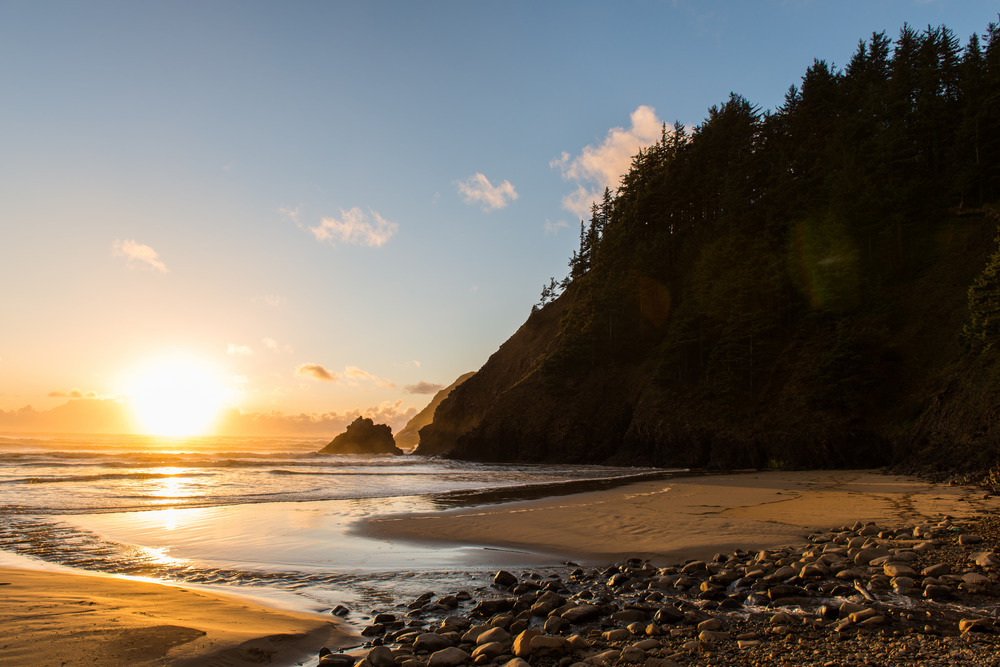 Indian Beach (Ecola State Park - Oregon) - November 2015
