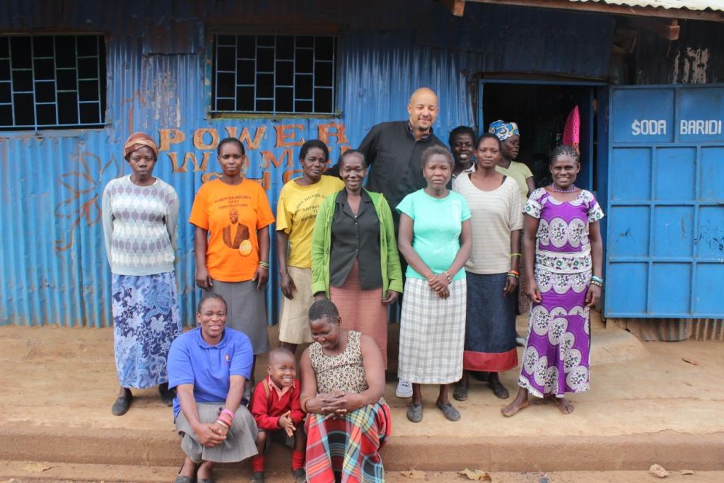 Author Christopher Myers Visits the Kibera Innovation Hub