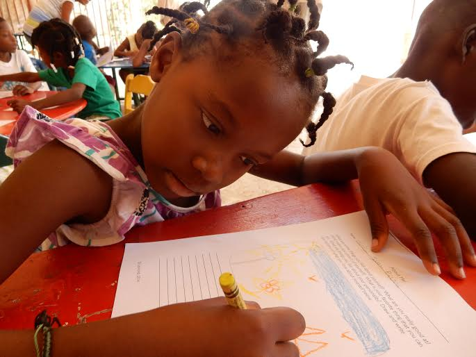 LitCamp inspires fearless writing and reading in Port-au-Prince, Haiti.