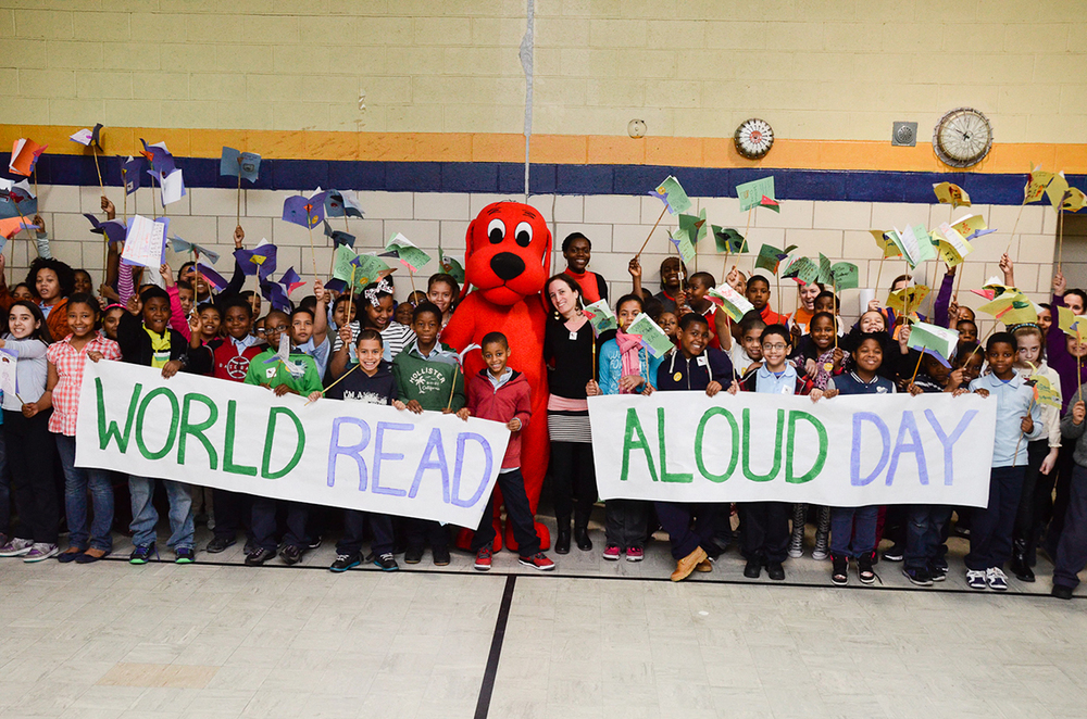 World Read Aloud Day:   March 4th, 2015