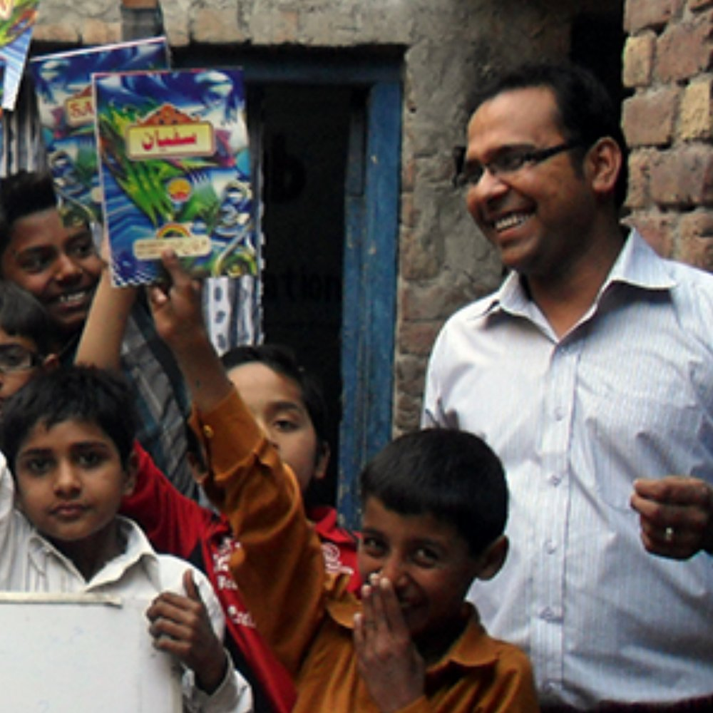 Faraz Javed   Partnership Coordinator,  Seeds of Hope