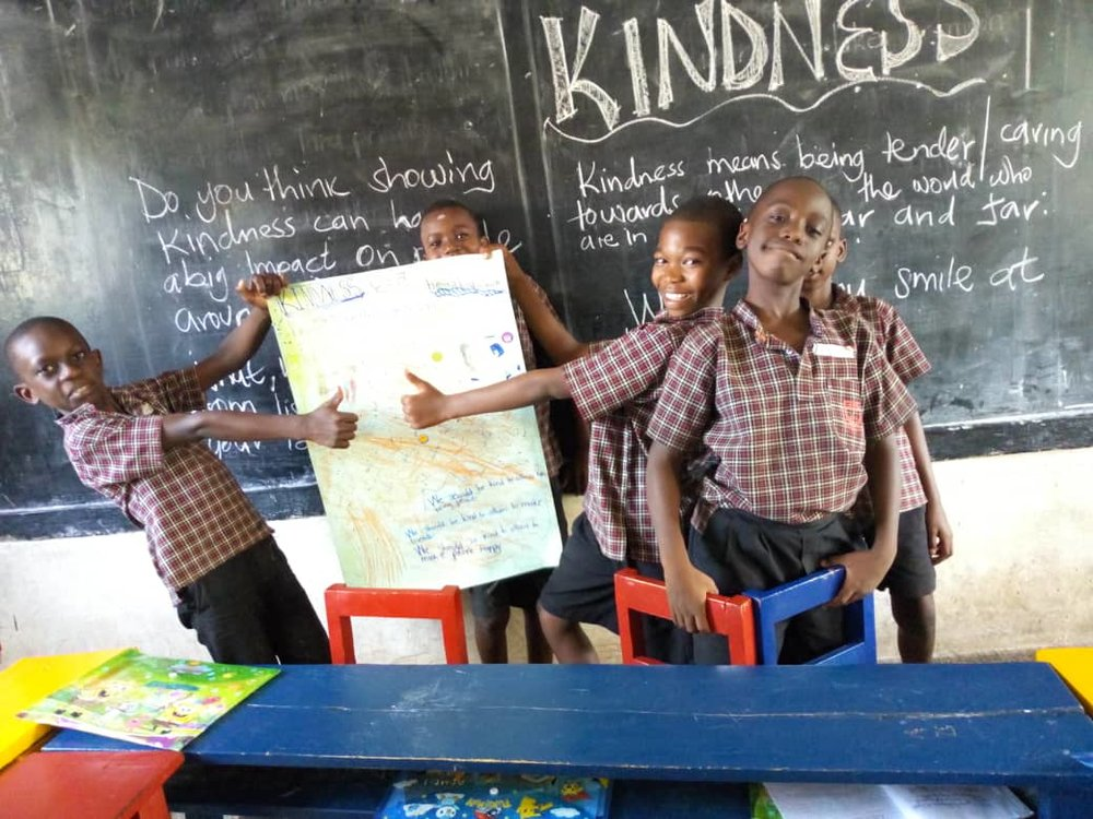 Kindness, one of LitWorld's 7 Strengths, is a keystone of all LitClub programming.