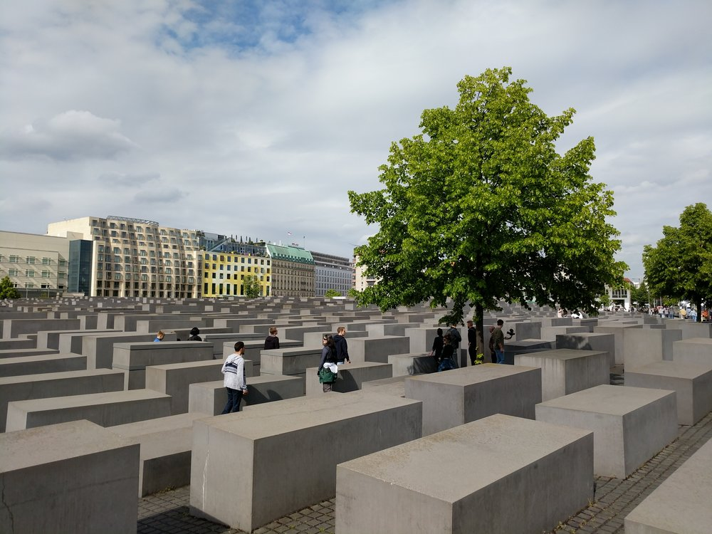 The Memorial to the Murdered Jews of Europe is said to be as much a public space as a memorial, but the way it swallows people up as they descend into its ravines is chillingly similar to my experience at the Jewish Museum.