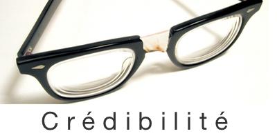 Briser les perceptions et bâtir la crédibilité.