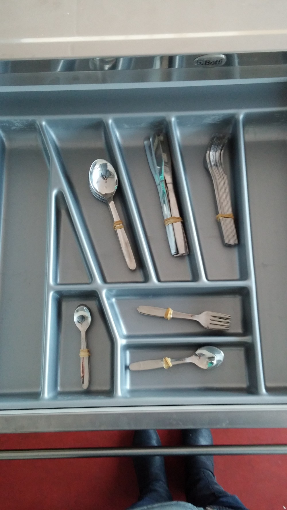 Because you never know when you'll need 3 different sizes of spoons