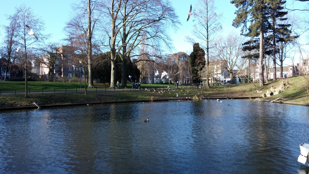 Kronenburger Park in Nijmegen