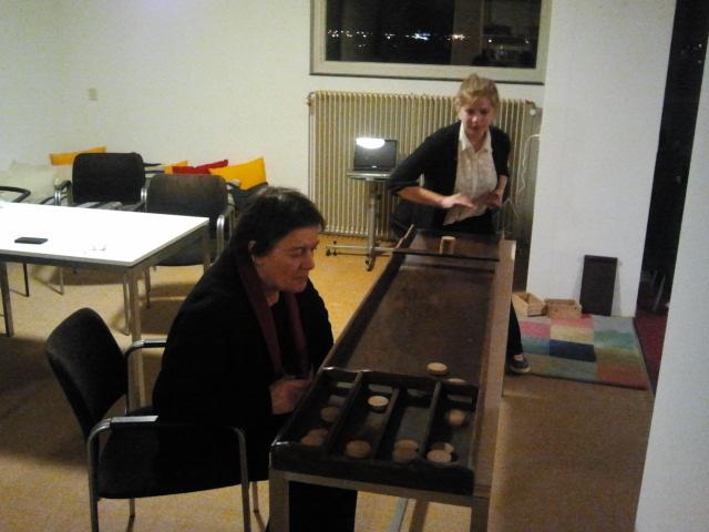 Shuffleboard! (photo credit: Katharina)