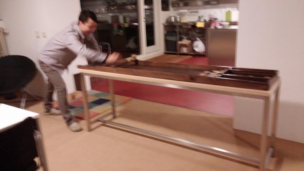 More shuffleboard!