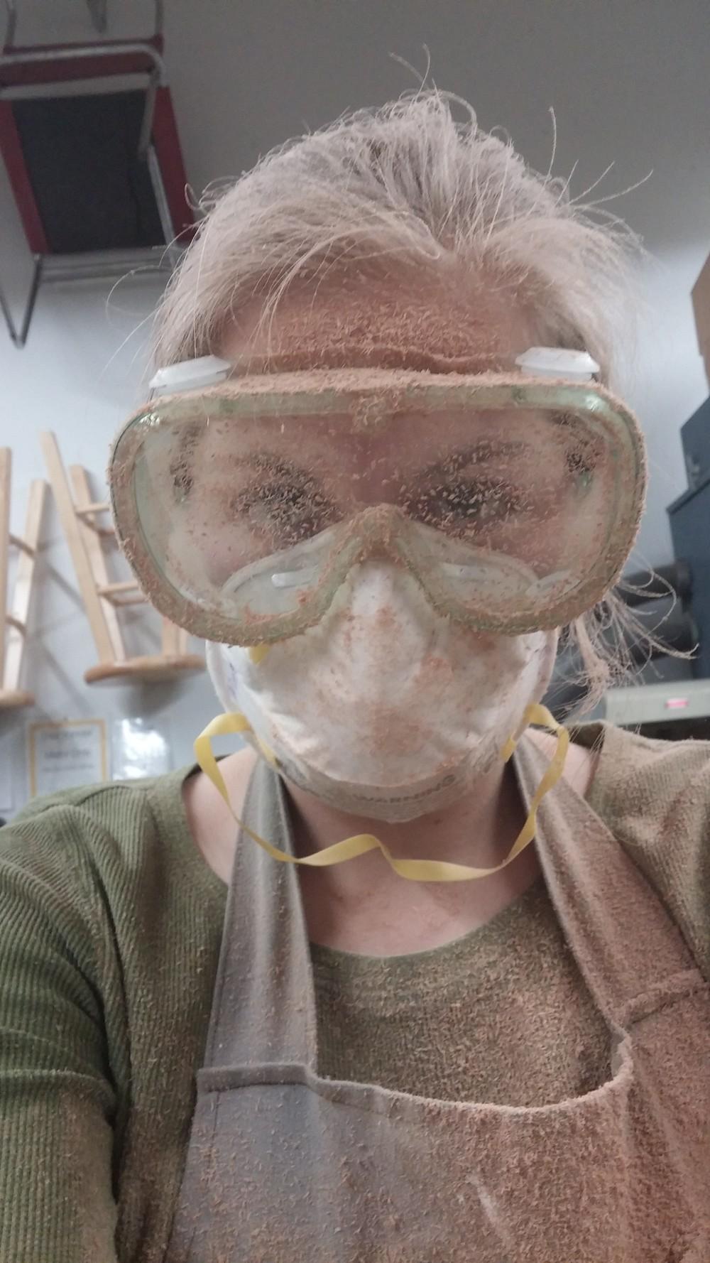 Sawdust!