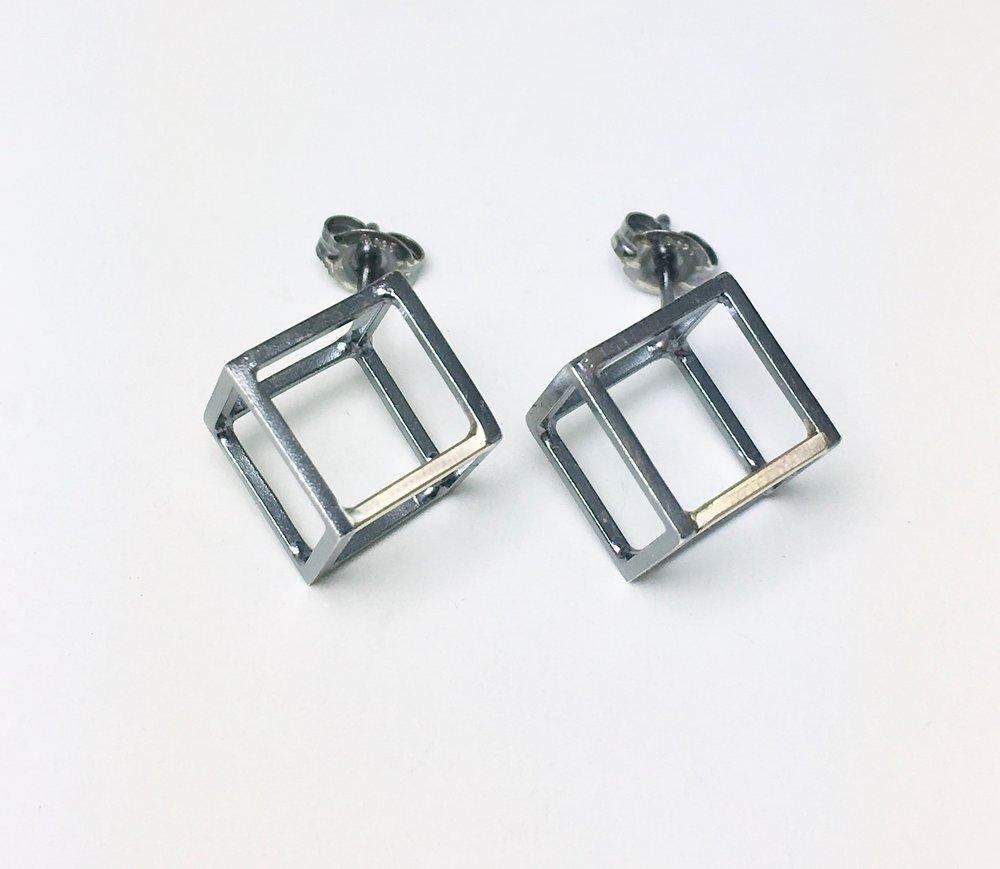 3rd dimension earrings