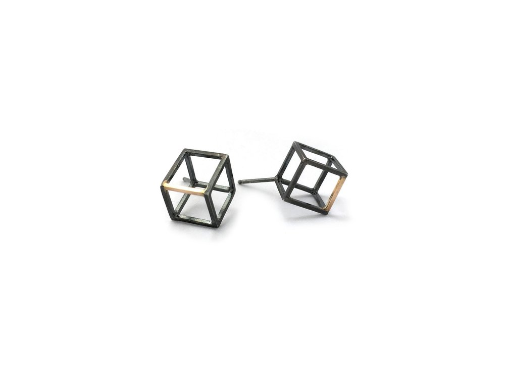3rd dimension earrings