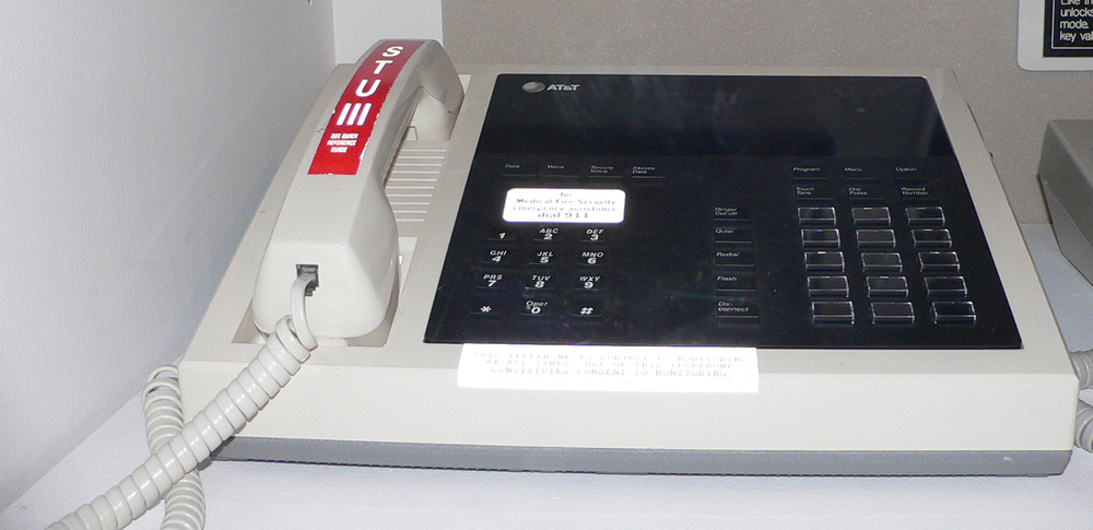 The AT&T STU-III secure telephone that Maher and the Bell Labs team developed. Photo: Mark Pellegrini (CC BY-SA 2.5)