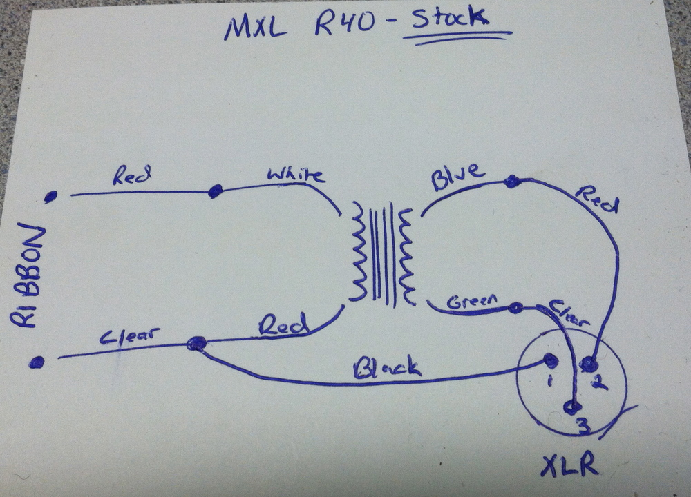 Stock Schematic for MXL R40