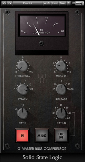 The waves SSL G Compressor