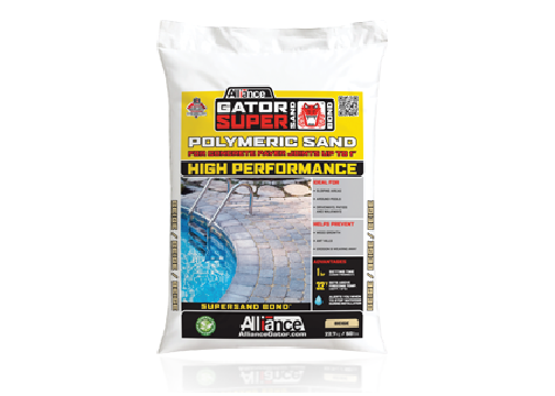 High performance polymeric sand
