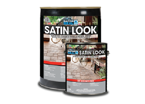 Satin look oil-based sealer