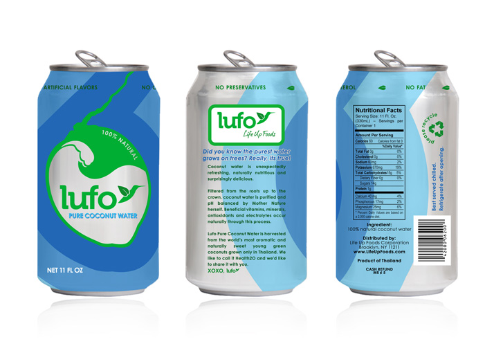 LUFO Pure Coconut Water
