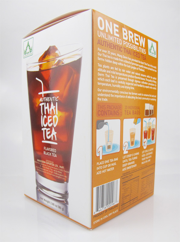 Wang Derm Thai Iced Tea (tea bags)