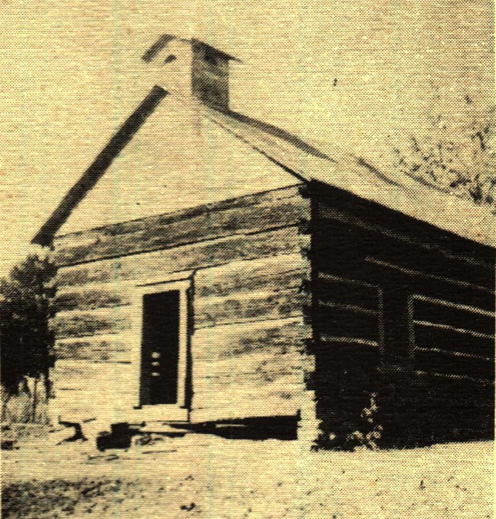One of Campground's earliest church and school buildings