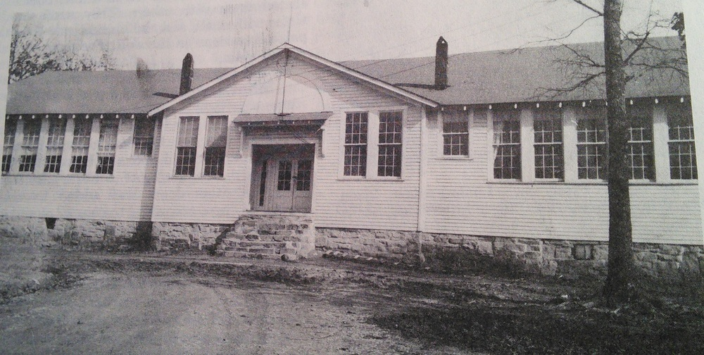 The History of Fentress County, Tennessee, by The Fentress County Historical Society, 1987 lists this building as the Clarkrange Elementary and High School 1926 - 1952.  However, those dates do not correspond to the building dates given elsewhere in that book, and students of that day recognize this building as the Elementary school.