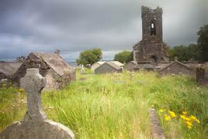 Irish Cemetery: Don't those little houses look a lot like our Tent Graves?