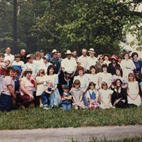Group from Martha Washington Freewill Baptist Church circa 1983