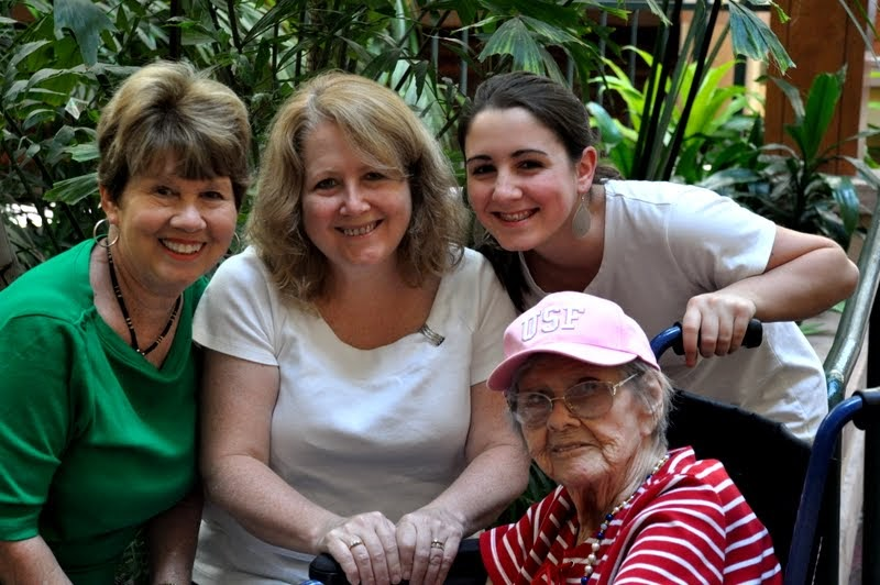 4 Generations - My Grandmother's 94th Birthday