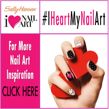 I Heart My Nail Art Party With Sally Hansen Being Spiffy