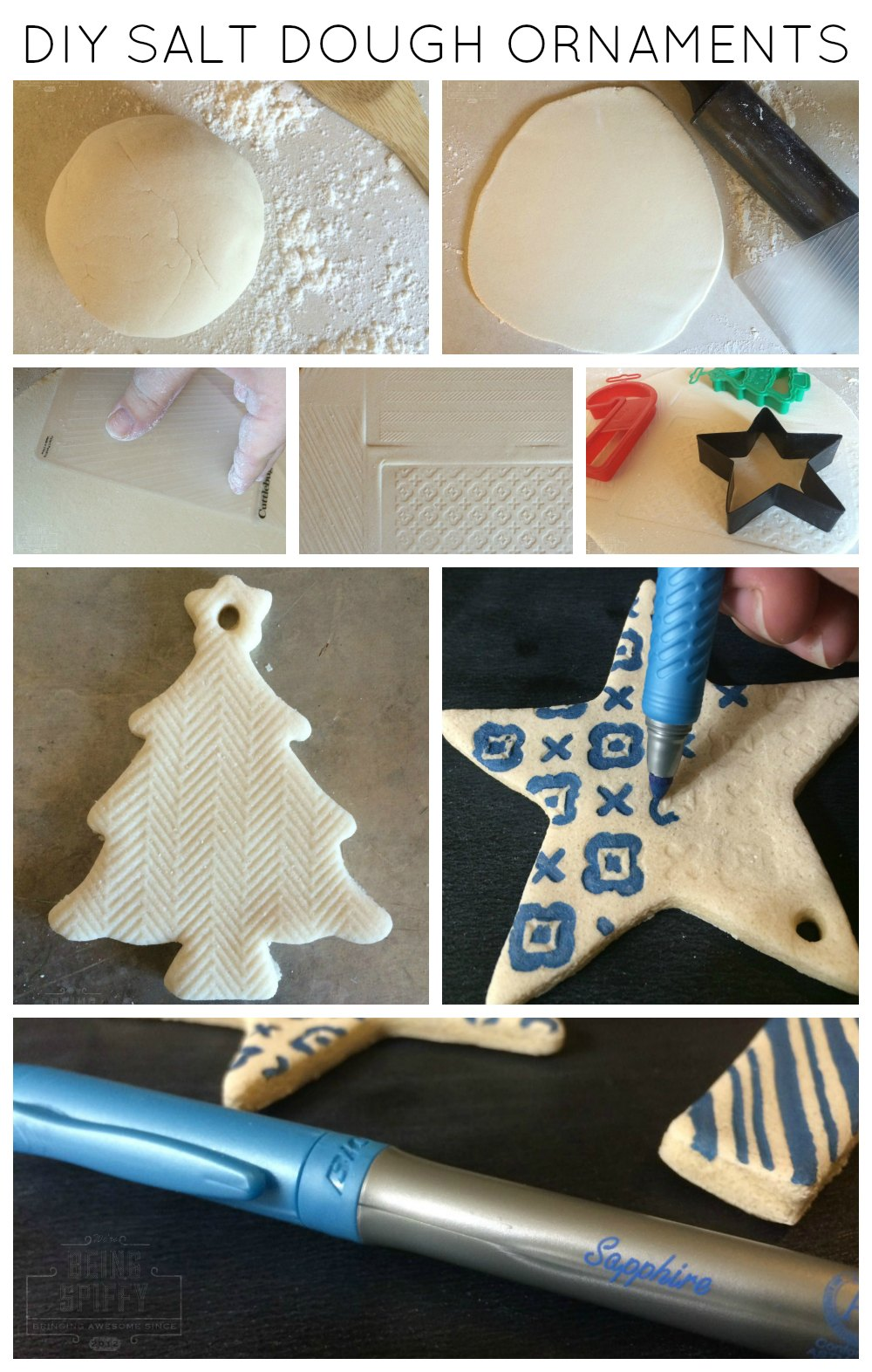 Diy salt dough ornaments being spiffy it was so darn simple i cant believe id never made it before i shall now share the secrets of the salt dough ornament with you prepare yourself to be solutioingenieria Choice Image