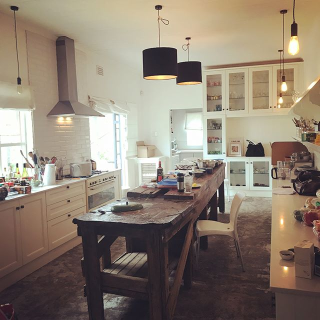 Our studio this week. 14 pasta recipes down, 6 to go! 🍝 #foodstyling #foodstylist #stills