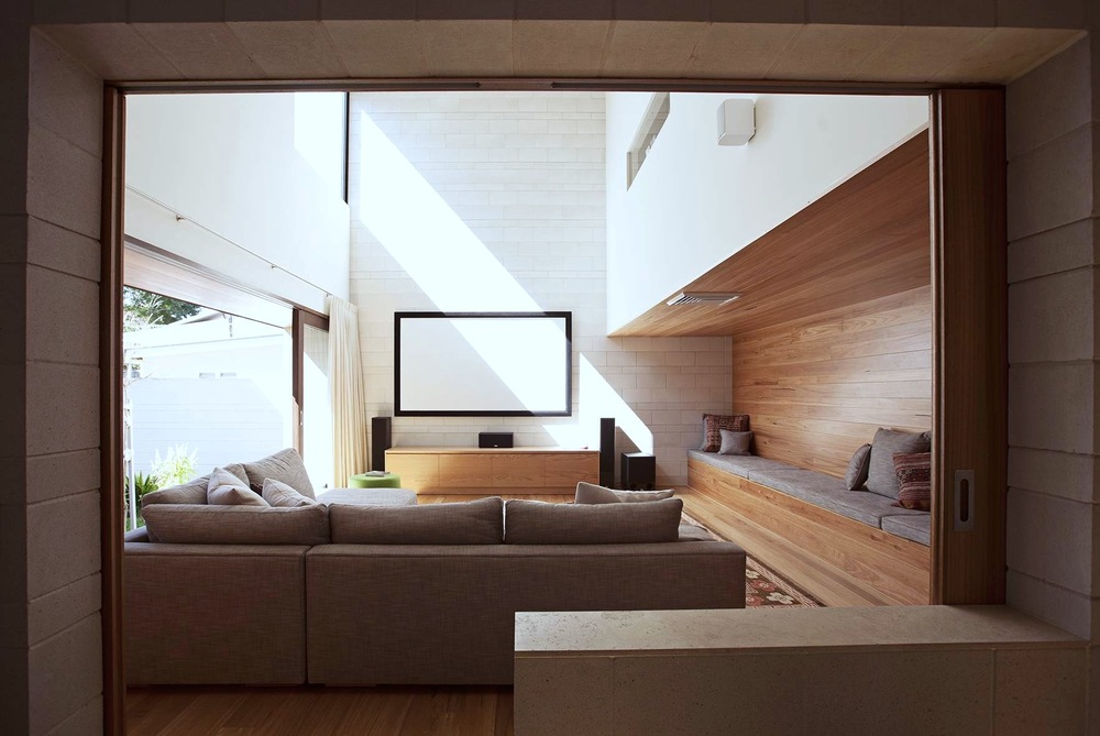 Media Room By Gary Hamer Interior Design Brisbane