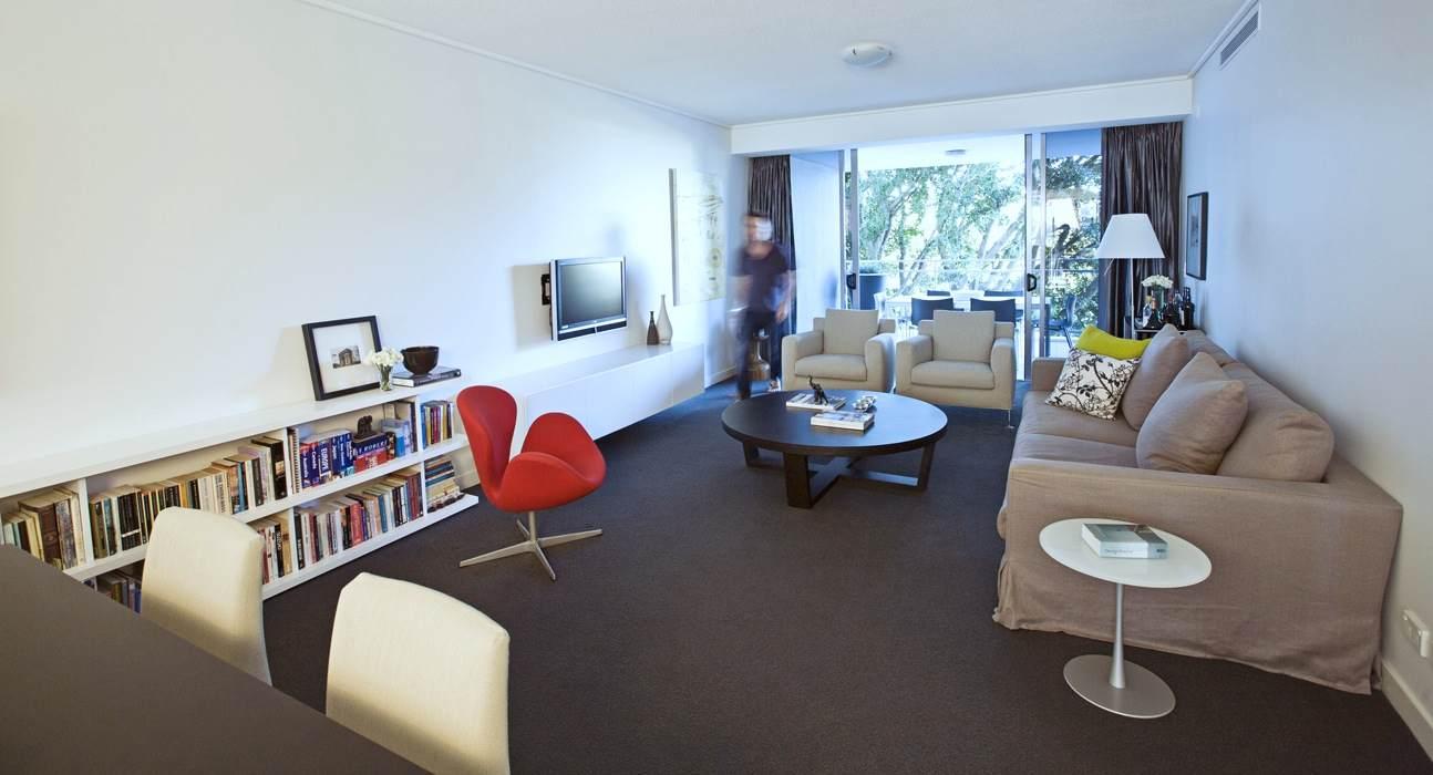 New Farm high rise urban oasis — Gary Hamer Interior Design Brisbane