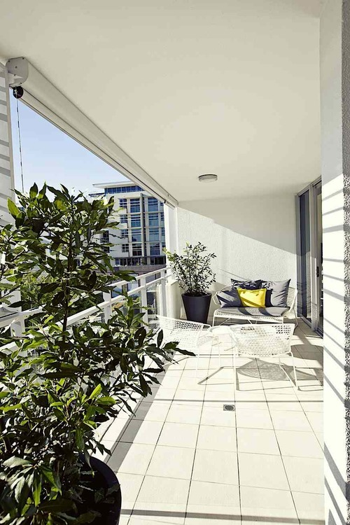Courtyards and balcony design — Gary Hamer Interior Design Brisbane